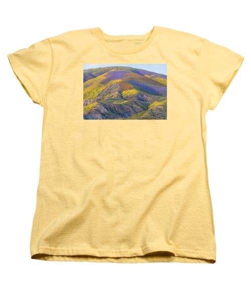 2017 Carrizo Plain Super Bloom Women's T-Shirt (Standard Cut) by Marc Crumpler