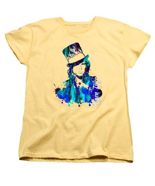 Steven Tyler Collection Women's T-Shirt (Standard Cut) by Marvin Blaine