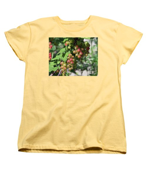 Women's T-Shirt (Standard Cut) featuring the photograph My Currant by Elvira Ladocki