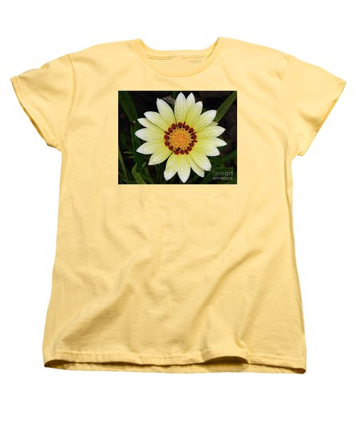 Nice Gazania Women's T-Shirt (Standard Cut) by Elvira Ladocki