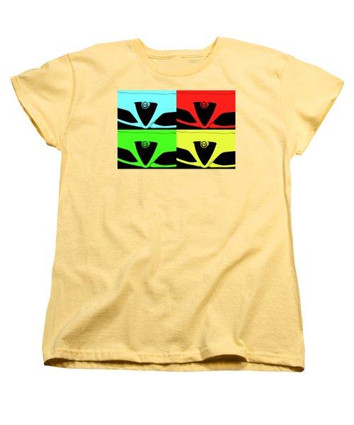 4 C Pop Women's T-Shirt (Standard Cut) by John Schneider
