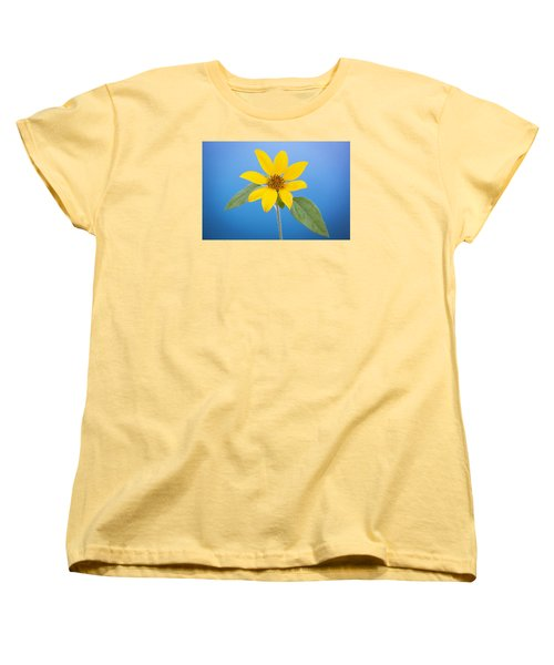 Happy Sunflowers Helianthus  Women's T-Shirt (Standard Cut) by Rich Franco