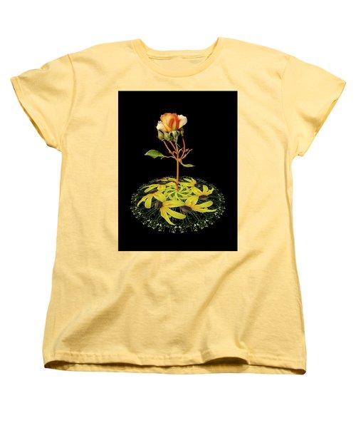 Women's T-Shirt (Standard Cut) featuring the photograph 4407 by Peter Holme III