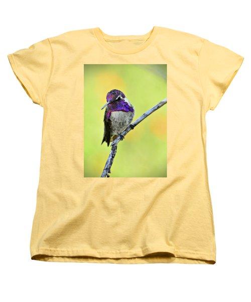 Costas Hummingbird  Women's T-Shirt (Standard Cut) by Saija  Lehtonen