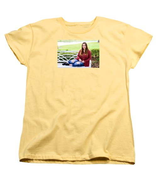 Women's T-Shirt (Standard Cut) featuring the photograph 5554 by Teresa Blanton