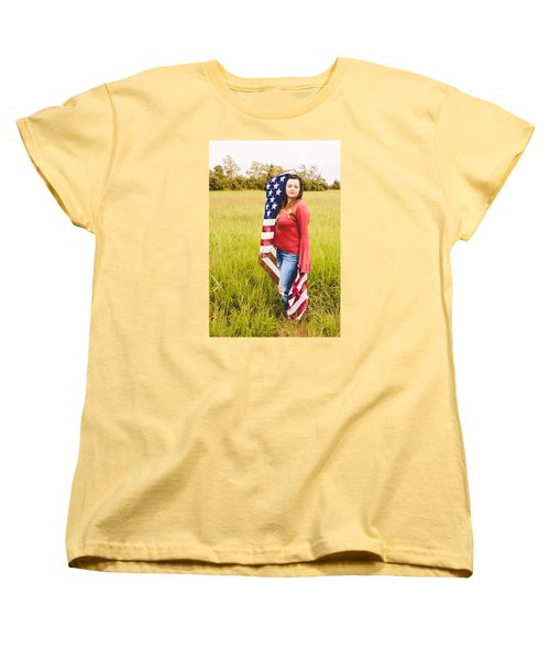 Women's T-Shirt (Standard Cut) featuring the photograph 5624-2 by Teresa Blanton
