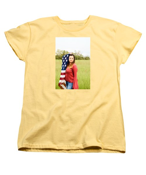 Women's T-Shirt (Standard Cut) featuring the photograph 5626-2 by Teresa Blanton