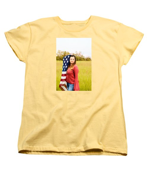 Women's T-Shirt (Standard Cut) featuring the photograph 5626 by Teresa Blanton
