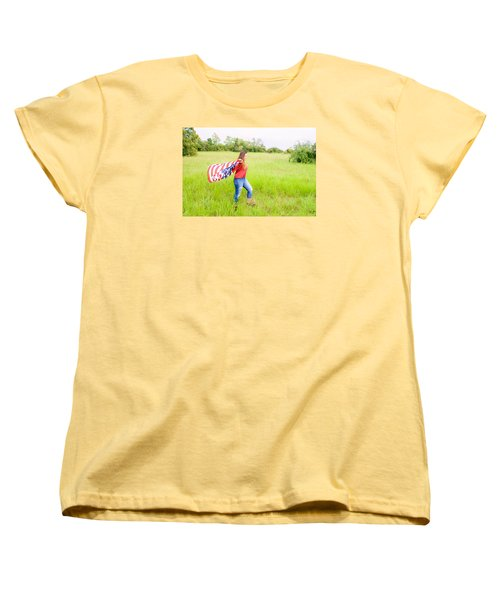 Women's T-Shirt (Standard Cut) featuring the photograph 5640-2 by Teresa Blanton
