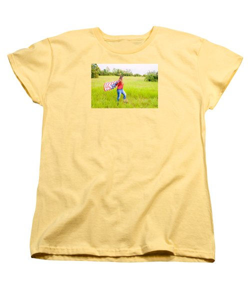 Women's T-Shirt (Standard Cut) featuring the photograph 5640 by Teresa Blanton