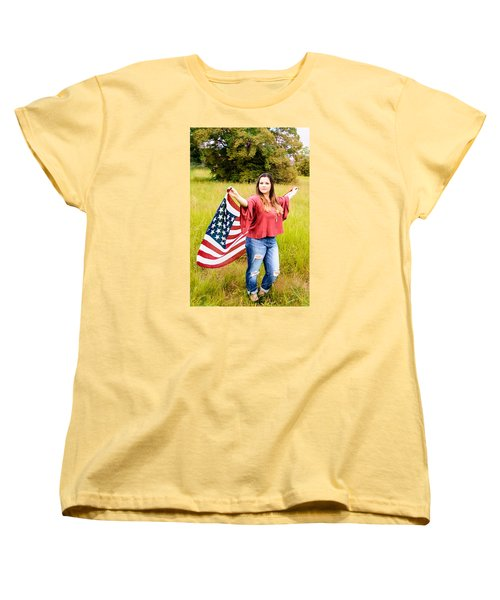 Women's T-Shirt (Standard Cut) featuring the photograph 5649 by Teresa Blanton