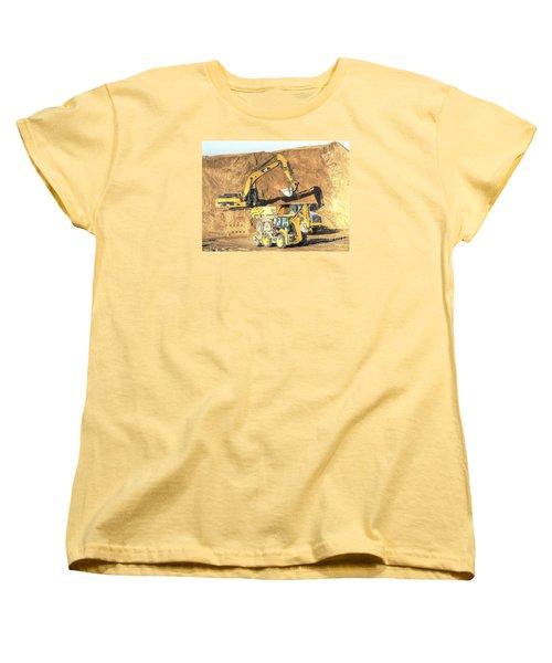construction whsd Peterburg Women's T-Shirt (Standard Cut) by Yury Bashkin