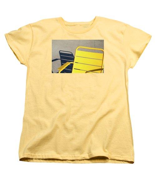 A Chair And Its Shadow Women's T-Shirt (Standard Cut)