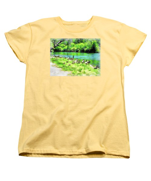 A Day At The Beach Women's T-Shirt (Standard Cut)