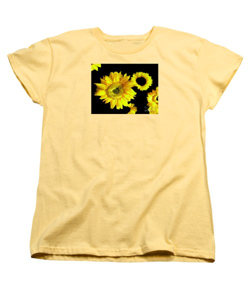 A Few Sunflowers Women's T-Shirt (Standard Cut) by Merton Allen