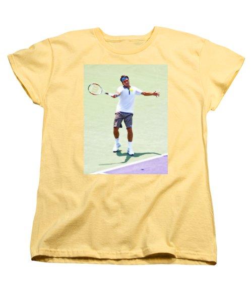 A Hug From Roger Women's T-Shirt (Standard Cut) by Steven Sparks