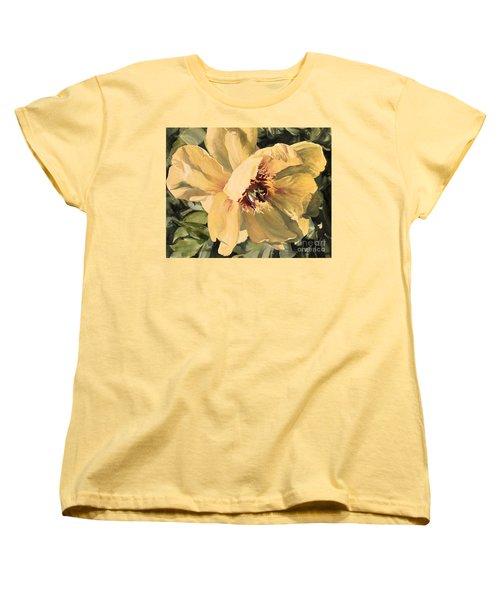 A Peony For Miggie Women's T-Shirt (Standard Cut)