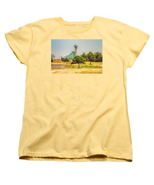 Women's T-Shirt (Standard Cut) featuring the photograph A Quiet View by Joan Bertucci