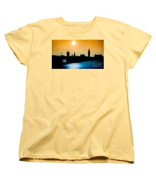 A Sunny Shape Women's T-Shirt (Standard Cut) by Giuseppe Torre