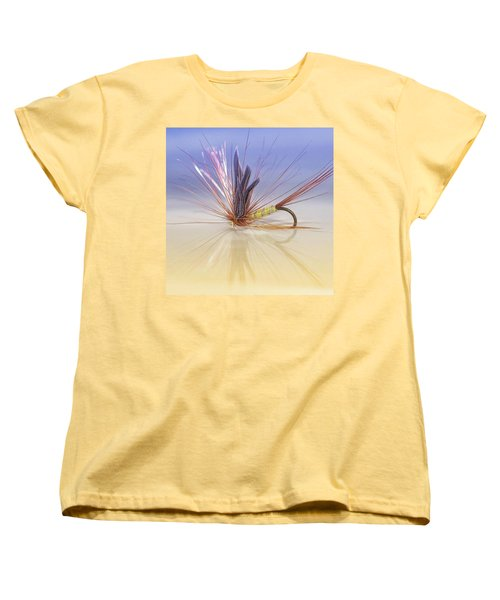 A Trout Fly (greenwell's Glory) Women's T-Shirt (Standard Cut) by John Edwards