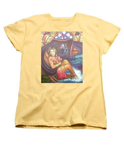 Abana Travel Women's T-Shirt (Standard Cut) by Jorge L Martinez Camilleri