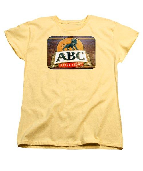 Women's T-Shirt (Standard Cut) featuring the photograph Abc Stout by Ethna Gillespie