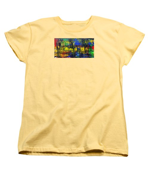 Abstract # 2  Women's T-Shirt (Standard Cut) by Rich Franco