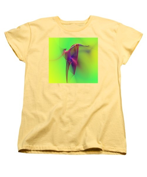 Women's T-Shirt (Standard Cut) featuring the photograph Abstract 091610 by David Lane
