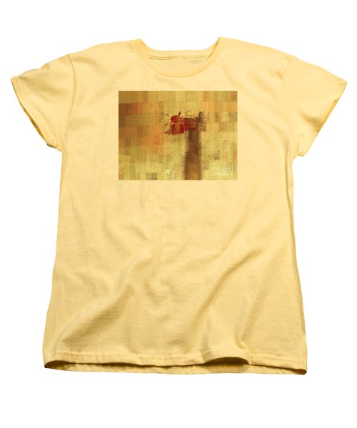Abstract Floral - 14v2ft Women's T-Shirt (Standard Cut) by Variance Collections