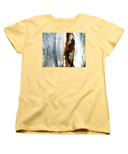 Women's T-Shirt (Standard Cut) featuring the photograph Abstract One by Lenore Senior