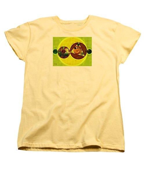 Abstract Painting - Citrine Women's T-Shirt (Standard Cut) by Vitaliy Gladkiy