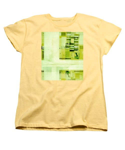 Women's T-Shirt (Standard Cut) featuring the digital art Abstractitude - C4v by Variance Collections