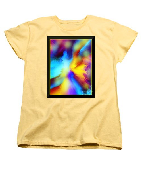 Celestial Rhythm Women's T-Shirt (Standard Cut) by Yul Olaivar