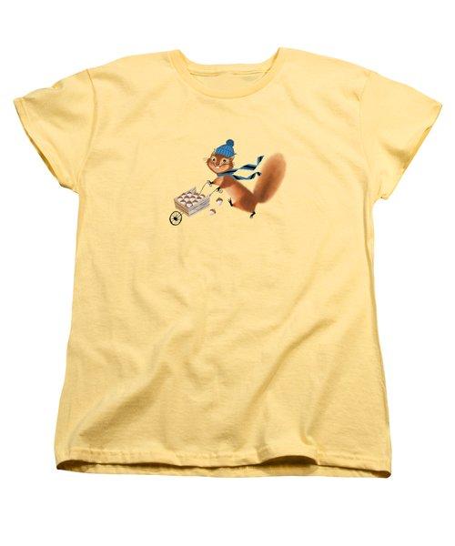 Acorn Industrialist Women's T-Shirt (Standard Cut) by Little Bunny Sunshine