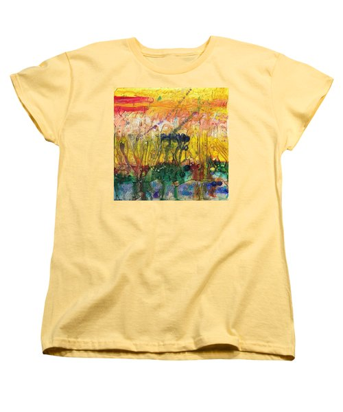 Agriculture Women's T-Shirt (Standard Cut) by Phil Strang