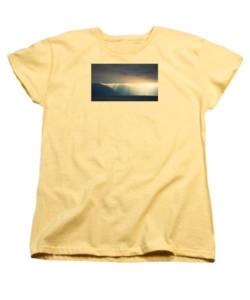 Alaska Inside Passage Under The Clouds Women's T-Shirt (Standard Cut) by Joni Eskridge