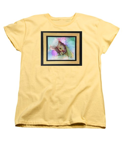 Alcoholic Flower Women's T-Shirt (Standard Cut) by Karin Eisermann