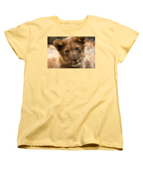 Women's T-Shirt (Standard Cut) featuring the photograph Am I Cute? by Christine Sponchia