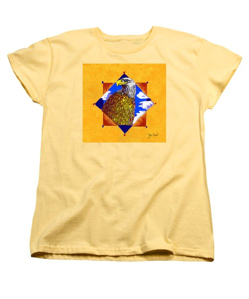 American Spirit Women's T-Shirt (Standard Cut) by John Keaton
