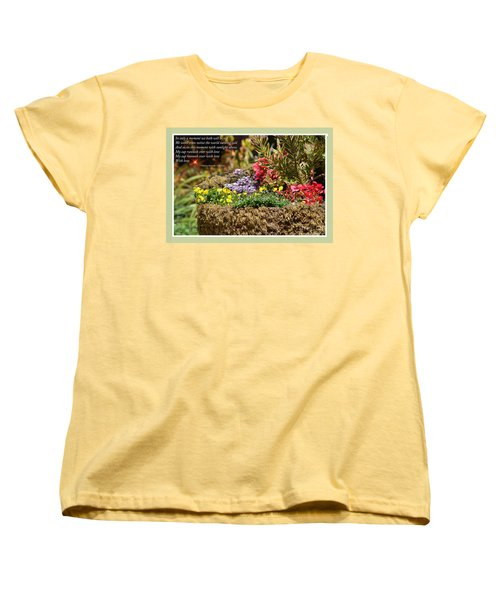 And So In This Moment With Sunlight Above II Women's T-Shirt (Standard Cut) by Jim Fitzpatrick
