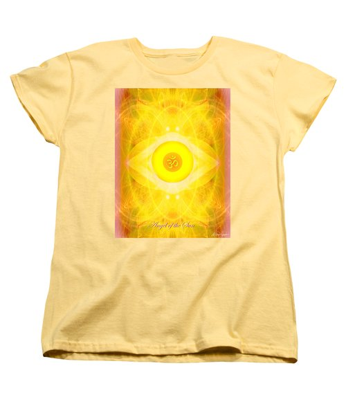 Angel Of The Sun Women's T-Shirt (Standard Cut) by Diana Haronis