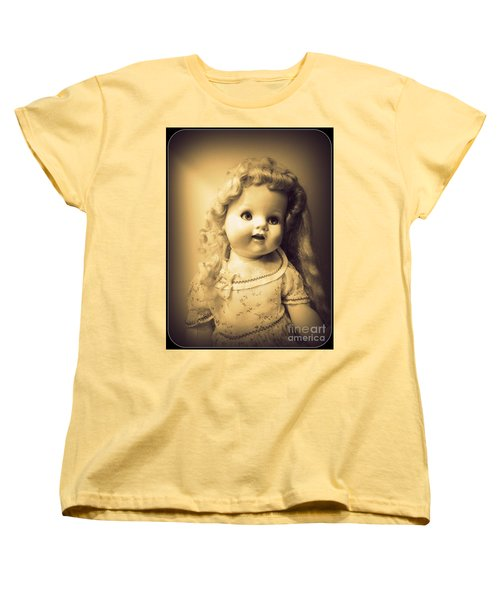 Antique Dolly Women's T-Shirt (Standard Cut) by Susan Lafleur