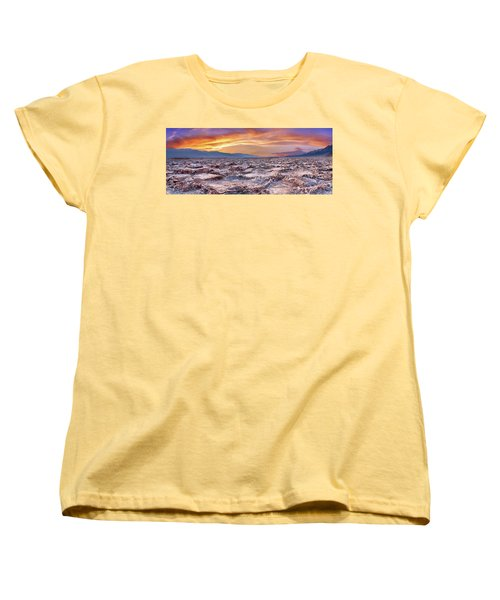 Women's T-Shirt (Standard Cut) featuring the photograph Arid Delight by Az Jackson