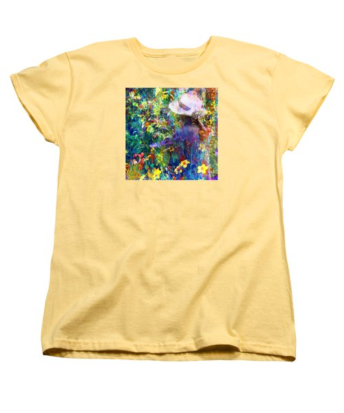 Women's T-Shirt (Standard Cut) featuring the photograph Aromatherapy by LemonArt Photography