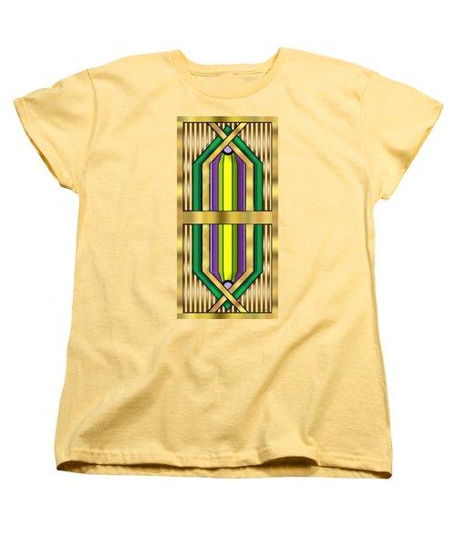 Art Deco 14 Vertical - Chuck Staley Women's T-Shirt (Standard Cut) by Chuck Staley