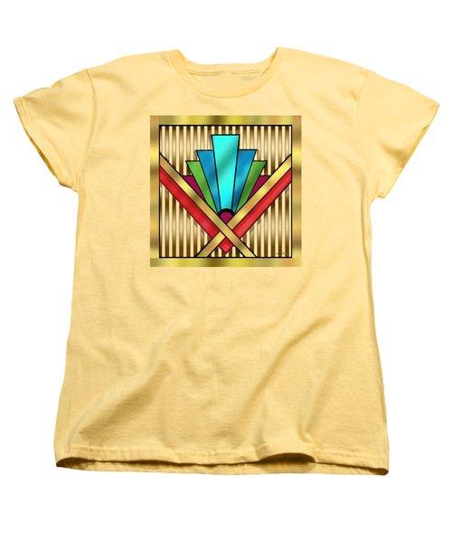 Art Deco 15 Transparent Women's T-Shirt (Standard Cut) by Chuck Staley
