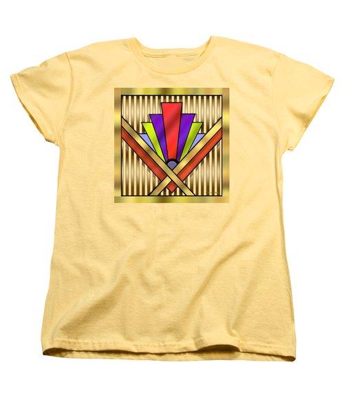 Art Deco 16 Transparent Women's T-Shirt (Standard Cut) by Chuck Staley