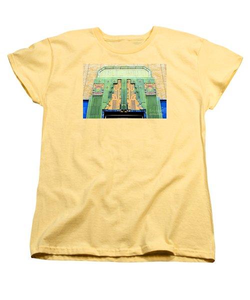 Art Deco Facade At Old Public Market Women's T-Shirt (Standard Cut) by Janette Boyd