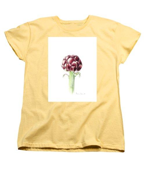 Artichoke From Roman Market Women's T-Shirt (Standard Cut) by Alison Cooper
