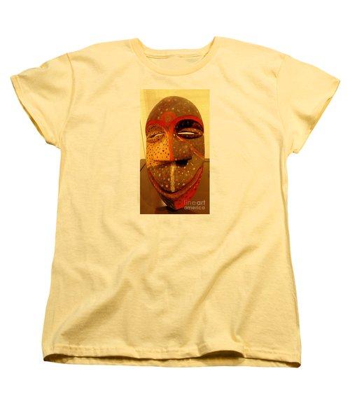 Artifact Mask Of Angola Women's T-Shirt (Standard Cut) by John Potts